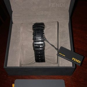 Fendi Jewelry - Fendi diamond bezel watch
